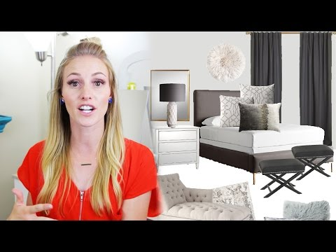 Master Bedroom Design Process!