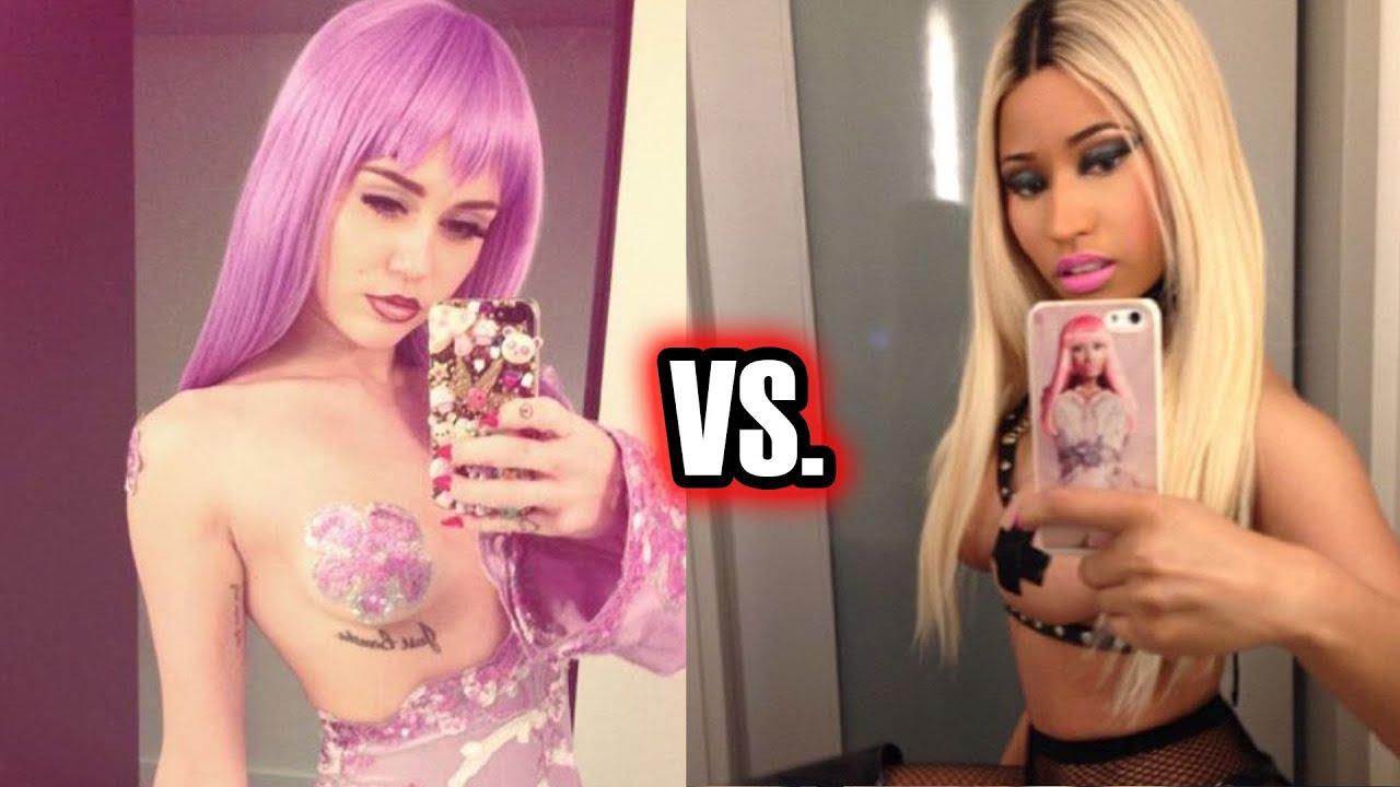 Nicki Minaj Sexy Halloween Costume Trumps Miley Cyrus?!