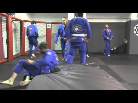 Judo drills at the Fight Factory