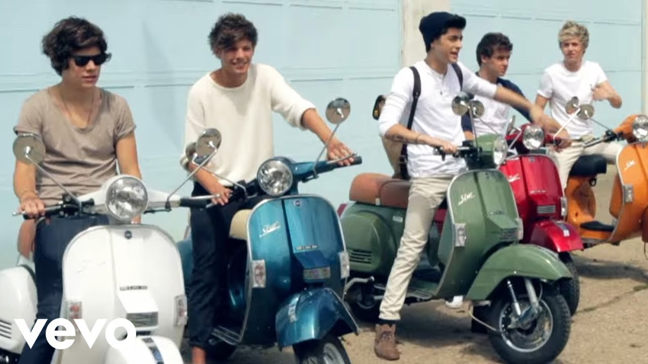 Download One Direction - Behind the scenes at the photoshoot