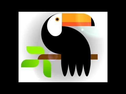 draw a nice bird with simple Tricks - Adobe Illustrator Drawing Tutorial thumbnail