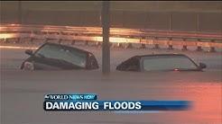 Torrential Rain Fall Floods Texas | ABC News