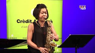 MARIKO TAKESHITA – 1st ROUND – III ANDORRA INTERNATIONAL SAXOPHONE COMPETITION 2016