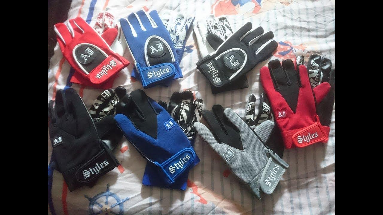 Aj Styles Replika zbirka rokavic - Youtube-6634