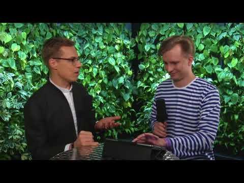 Alexander Stubb Interviewed at Slush 2017