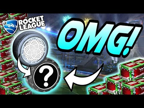 Rocket League Update: NEXT WHITE ZOMBAS? - Holiday Crate + ALL Painted Wonderment Wheels