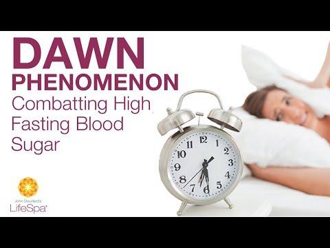 Dawn Phenomenon: Combating High Fasting Blood Sugar  | John Douillard's LifeSpa