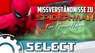 5 Missverständnisse am Spider-Man Far From Home Trailer [Fan Theorie]