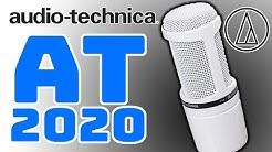 Audio Technica AT2020 Mikrofon Test Deutsch TechBoss 2019