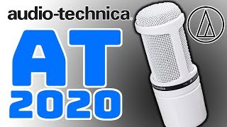 Audio Technica AT2020 Mikrofon Test Deutsch TechBoss 2019