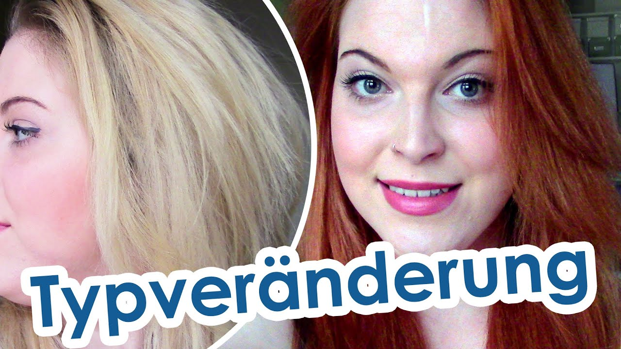 Blonde Haare Rot Färben Blonde To Red Hair Ginger Youtube