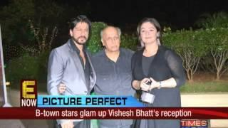 Stars troop in for Vishesh Bhatt's wedding reception
