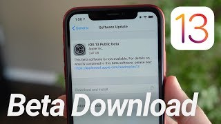 How To Download iOS 13 Beta Now! (No Computer)