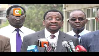 CORD accuses Jubilee, IEBC of working to stall electoral reforms