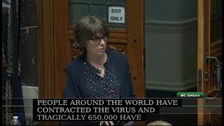 Question Period Week 5: How is the COVID-19 pandemic impacting the health of British Columbians?