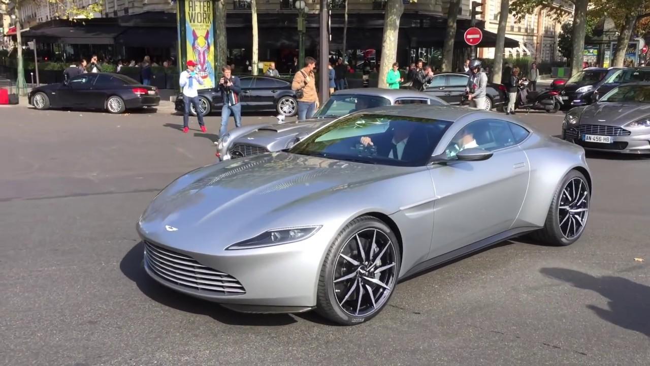 Aston Martin Db10 In Paris James Bond 007 Spectre Movie