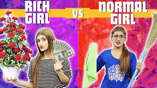 Rich Girl Vs. Normal Girl  During  Valentine Day | SAMREEN ALI