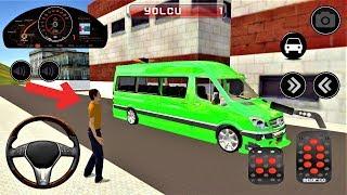Çocuklar için Servis Minibüsü Sürücüsü Araba Oyunu #2 - Android Gameplay FHD
