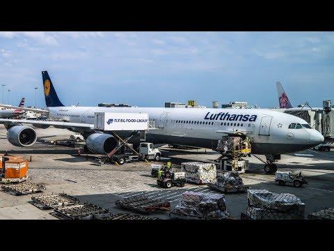 TRIP REPORT | Lufthansa | Airbus A340-600 | Los Angeles - Munich (LAX-MUC) | Economy Class