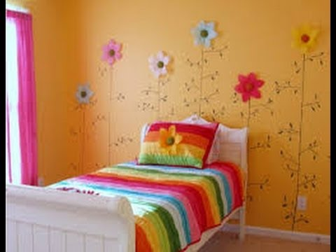 Decoracion de cuartos infantiles para ni as 3 youtube for Cuarto para 3 ninos