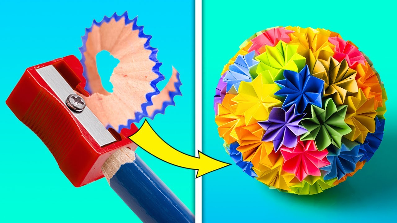 20 COLORFUL DIY CRAFTS YOU CAN MAKE YOURSELF