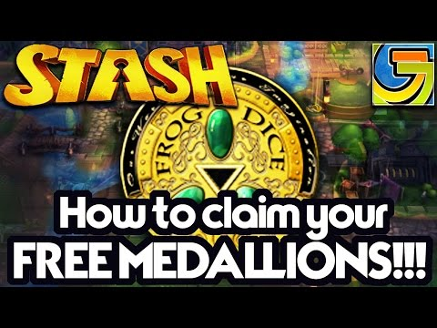 Stash, Claim your Free Medallions for a head start!