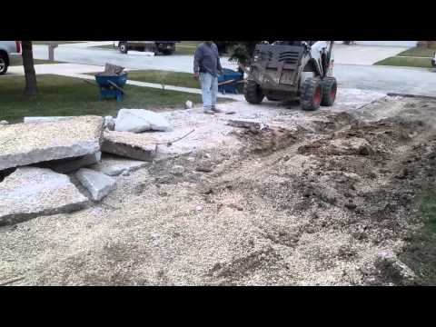 Replace Concrete With Brick Pavers
