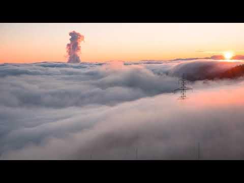 Туман красивый вид 4k