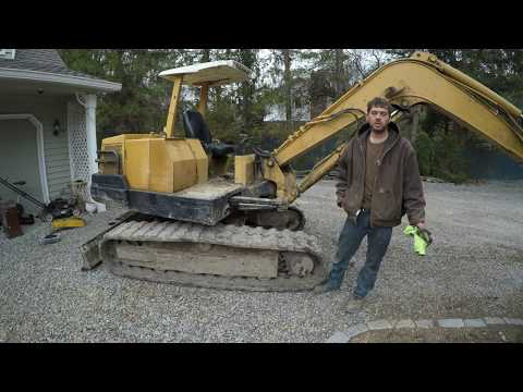 Fixing electrical problems on the Yanmar excavator - YouTube on
