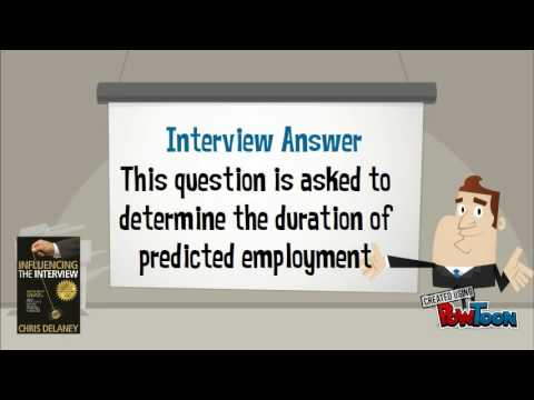 why do you want to work here interview question - YouTube