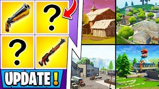 *NEW* Fortnite Update! | 4 Unvaulted Items, All Map Changes Leaked, BRUTE Nerf!