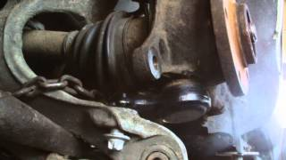 PEUGEOT 407 LOWER BALL JOINT REPLACMENT,part2