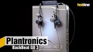 Plantronics BackBeat GO 3 — обзор влагозащищенных беспроводных наушников
