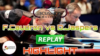 Highlight Caudron Frederic Vs Jaspers Dick | Cup LG U+ | Billiards 3 Cushion