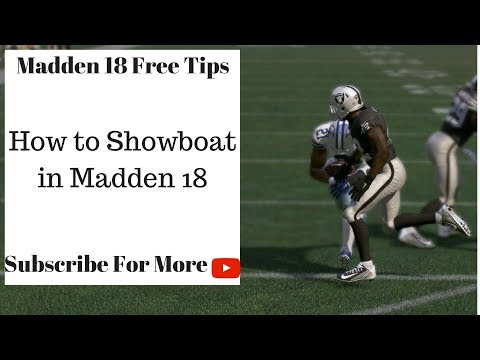 Madden 18 Tips - How to Celebrate in Madden 18