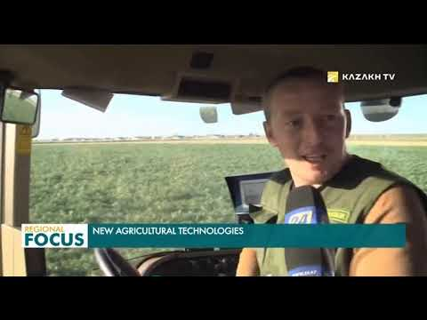 Digital transformation of agricultural technologies in Kazakhstan