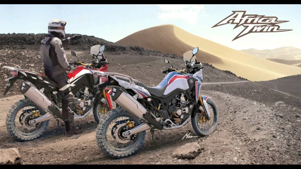 2016 honda africa twin video review youtube. Black Bedroom Furniture Sets. Home Design Ideas
