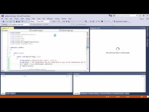 (Regex) Regular expressions in C#.net 2016