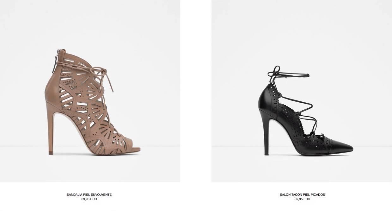fc61fe7a2 Catálogo Zapatos Zara Dama España 2015