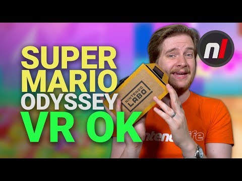 Super Mario Odyssey VR on Switch is Just OK