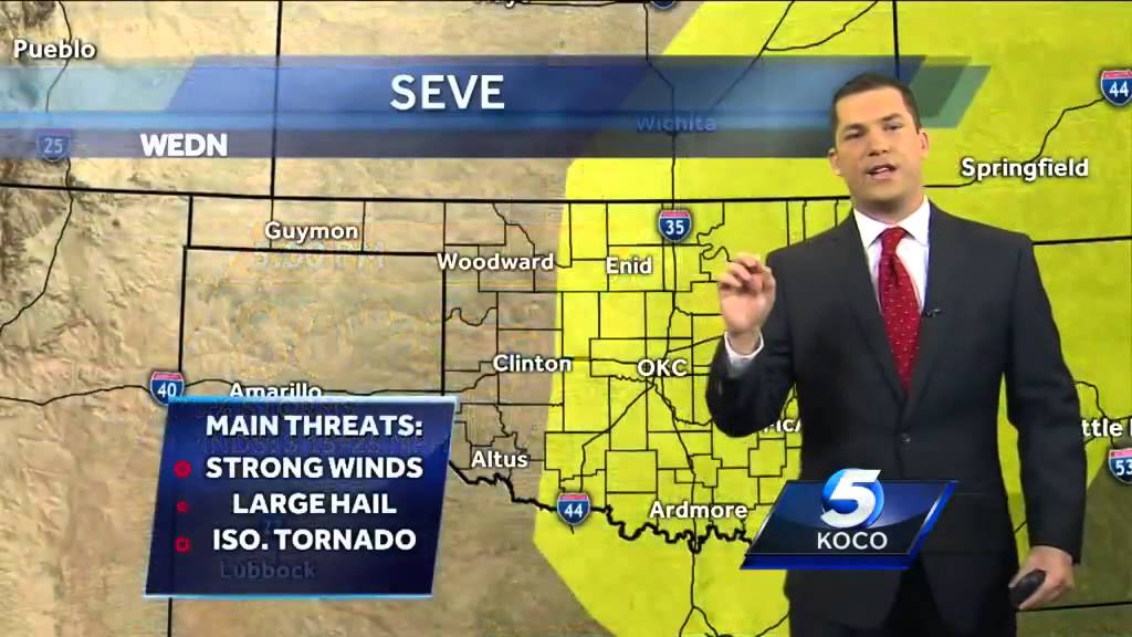First alert forecast team tracking possibility of severe weather