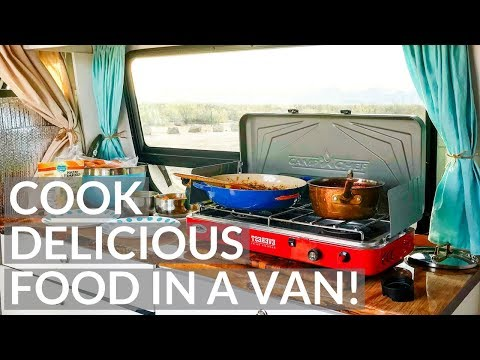 VAN LIFE | HOW YOU CAN COOK DELICIOUS FOOD IN A VAN