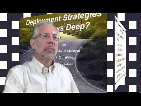 Jeffrey K. Liker Webinar - Lean Transformation - Part 1 of 5