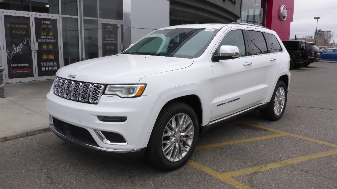 2018 Jeep Grand Cherokee Summit for Sam - Eastside Dodge - Calgary