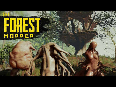 MASSIVE BASE ATTACK! The Forest Modded S2 Episode 16