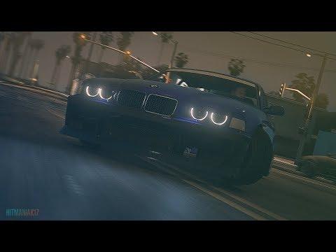 Illegal Drifting at Venice Beach in BMW M3 E36 ⭐ Cinematic ⭐ ELPORT - Tremble