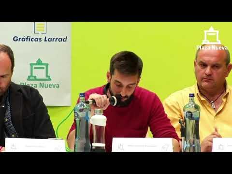 El debate de Plaza Nueva: Mikel Sánchez Benavente (CUP) pide el voto a la ciudadanía de Tudela