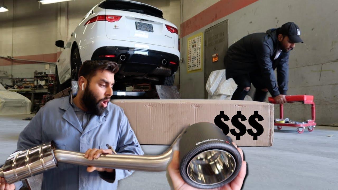 New Exhaust Install!! *Jaguar F-Pace S*