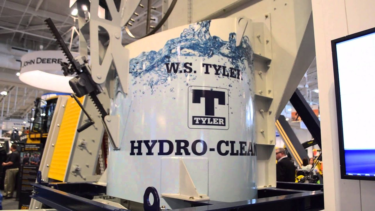 AGG1 2016: Haver & Boecker highlights Hydro-Clean, Ty-Wire - YouTube