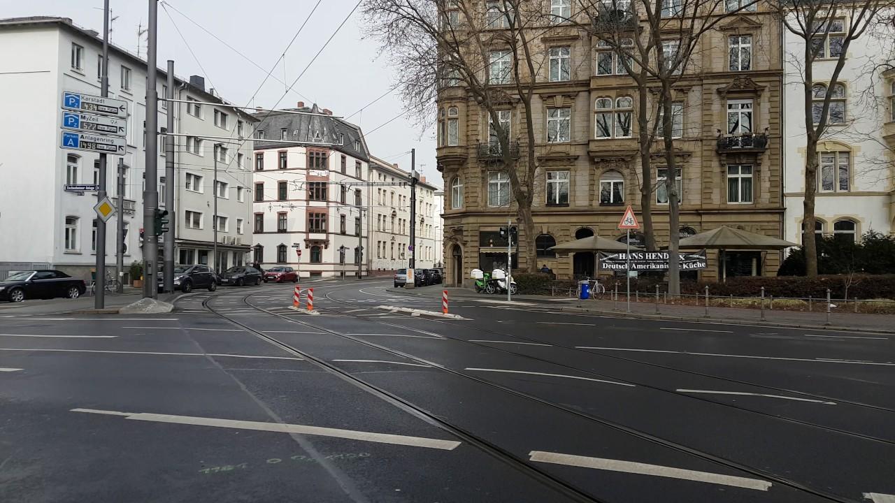 Vgf U Bahn Typ U5 25 Richtung Musterschule Youtube